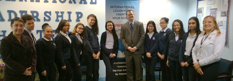 image-2015 International Leadership Charter High School- School Choice Councilman photo