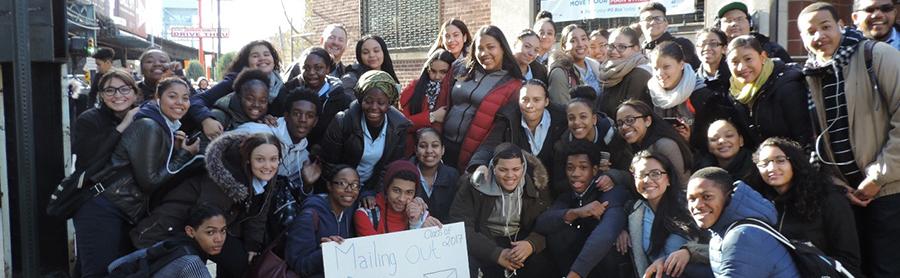 Photo Seniors from International Leadership Charter High School
