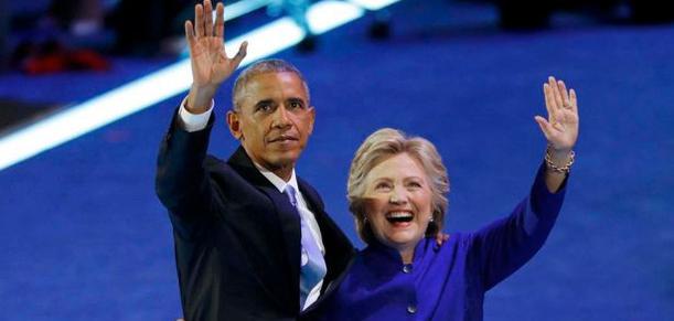 Image 2016 Obama Clinton