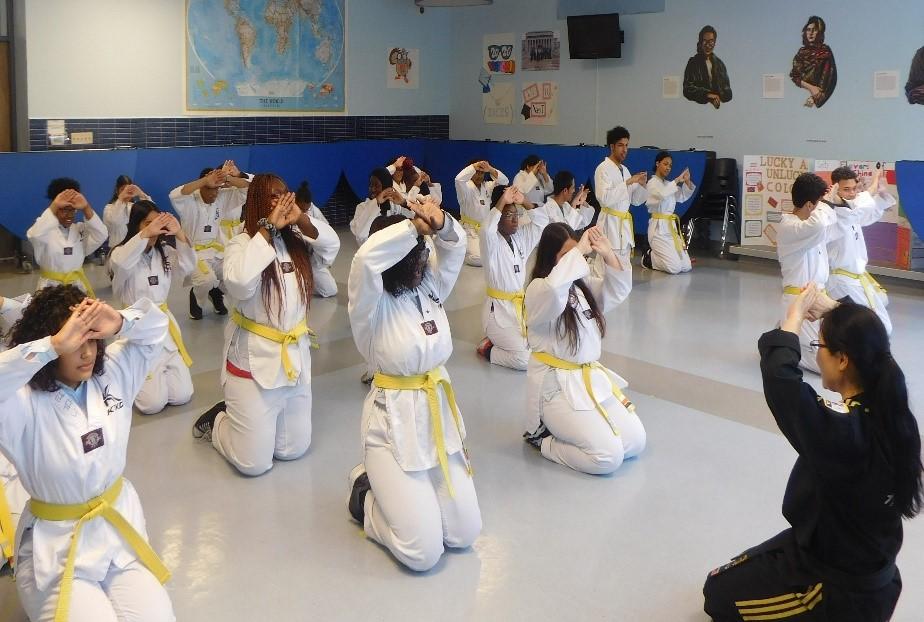Image International Leadership Charter High School Karate