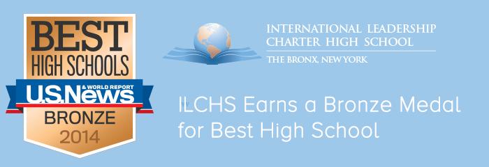 Image International Leadership Charter High School US NEWS & WORLD REPORT BRONZ