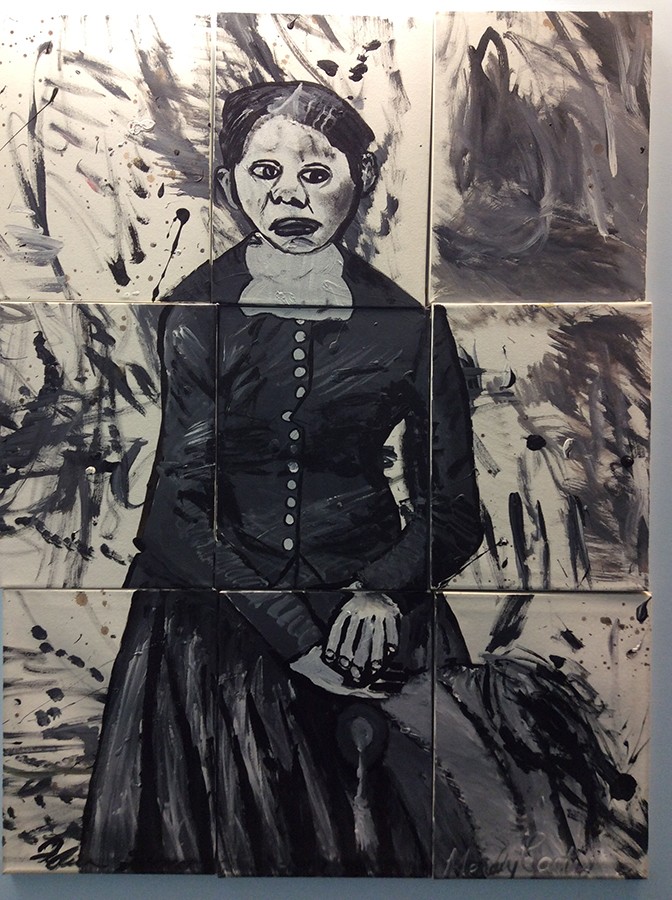 harriet-tubman painting by ILCHS Alumni