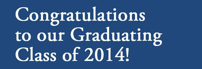 Congratulations to our ILCHS Graduating Class of 2014